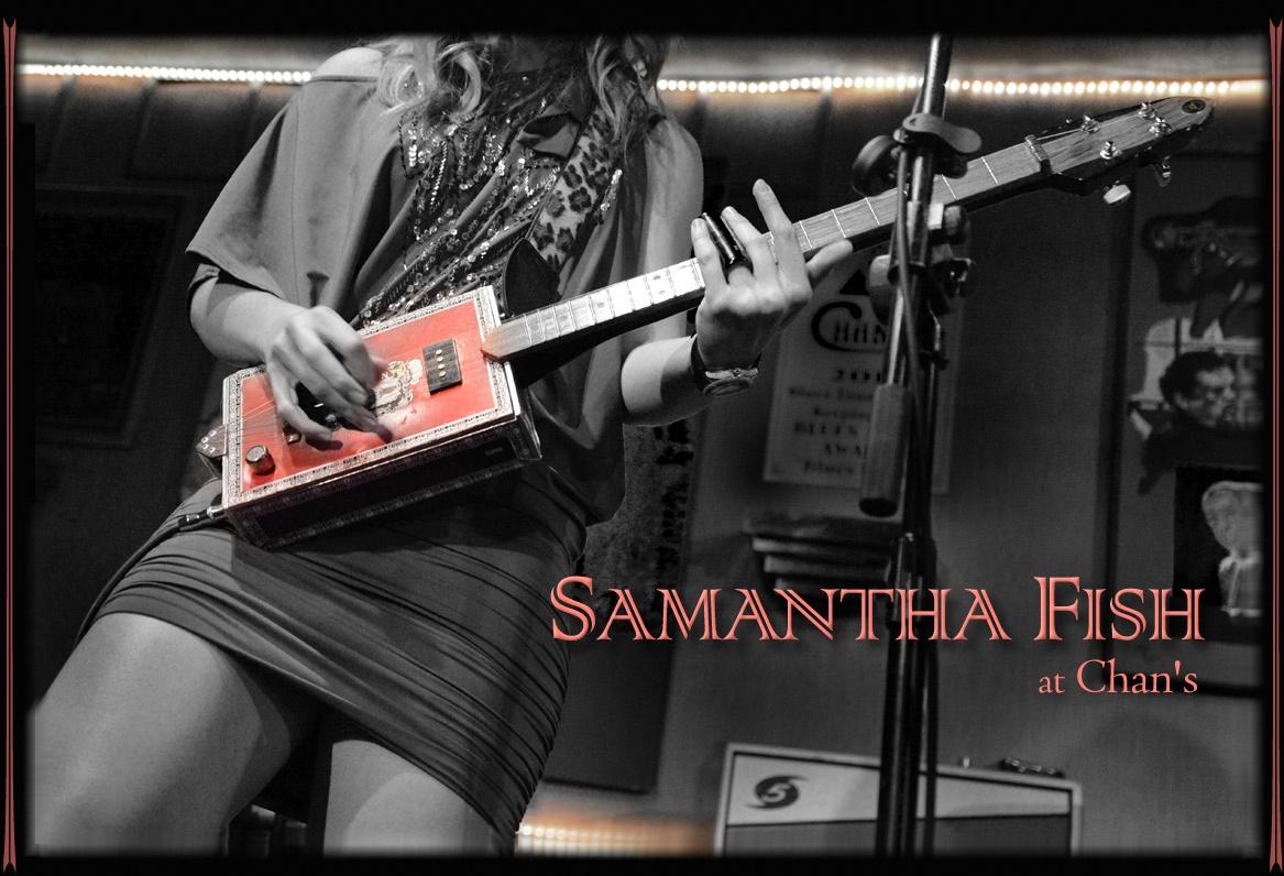 Samantha Fish at Chan's